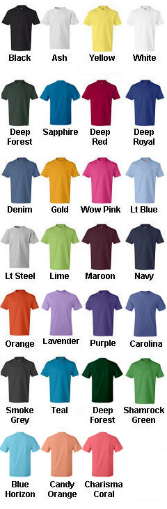 Hanes Youth 6.1 oz. Tagless® ComfortSoft® T-Shirt - All Colors