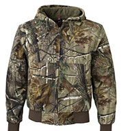 Custom Cheyenne Camouflage Canvas Work Jacket by Dri Duck Mens