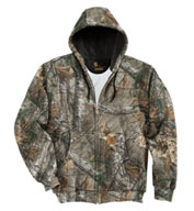 Carhartt Midweight WorkCamo® AP Hooded Zip-Front Sweatshirt