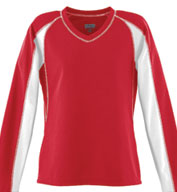 Custom Ladies Wicking Mesh Charger Lacrosse Jersey
