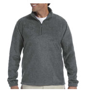 Harriton 8 oz Quarter Zip Fleece