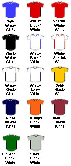 Adult Corner Kick Soccer Jersey - All Colors