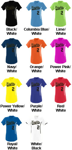 Girls Heat Jersey - All Colors