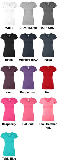 Next Level Ladies V-Neck T-Shirt - All Colors
