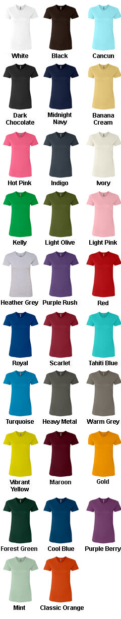 Next Level Ladies Cotton Boyfriend Tee - All Colors