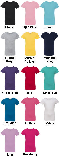 Next Level Youth Cotton Princess Tee - All Colors