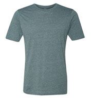 Custom Next Level Mens Poly/Cotton Crew Neck Tee