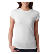 Next Level Ladies Poly/Cotton Crew Neck Tee