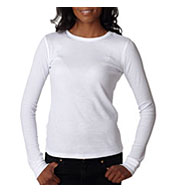 Custom Next Level Ladies Soft Long-Sleeve Poly/Cotton Thermal  Tees