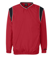 Custom Rawlings V-Neck Micro Poly Windshirt Mens