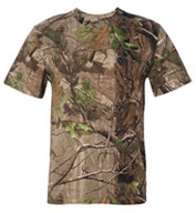 Realtree Code V Camouflage Short Sleeve T-shirt by Code V
