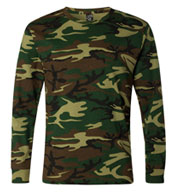 Adult Code V Camouflage Long-Sleeve T-Shirt