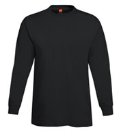 Adult Hanes ComfortSoft® Heavyweight Long Sleeve T-Shirt
