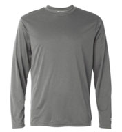 Custom Champion Mens 4 oz. Double Dry® Performance Long-Sleeve T-Shirt