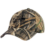 Custom Mossy Oak 6 Panel Camouflage Cap