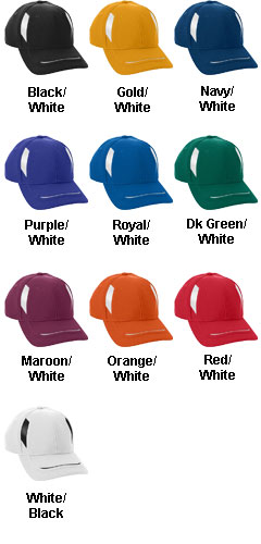 Adult Adjustable Wicking Mesh Edge Cap - All Colors