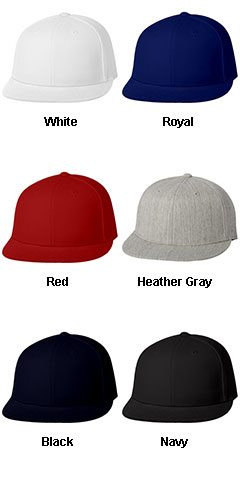 Yupoong Flexfit®  Flat Bill Cap - All Colors