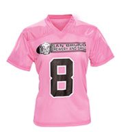 Custom Girls Overtime Football Fan Jersey