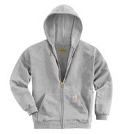 Custom Carhartt Mens Midweight Hooded Zip-Front Sweatshirt