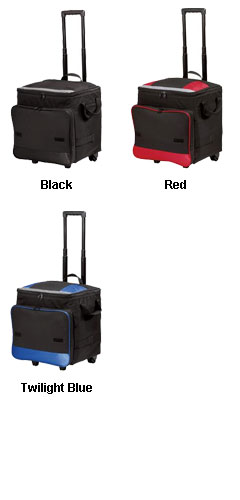 Collapsible Rolling 48-Can Cooler - All Colors