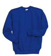 Custom Hanes Youth 7.8 oz. ComfortBlend® EcoSmart® 50/50 Fleece Crew