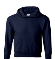 Custom Hanes ComfortBlend® EcoSmart® Youth Hooded Sweatshirt