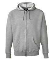 J. America Premium Full Zip Hooded Sweatshirt