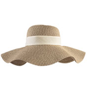 Custom Floppy Sun Hat with Removable Band