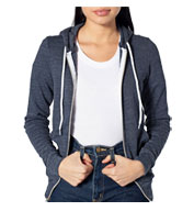 American Apparel Unisex Tri-Blend Terry Full-Zip Hoodie