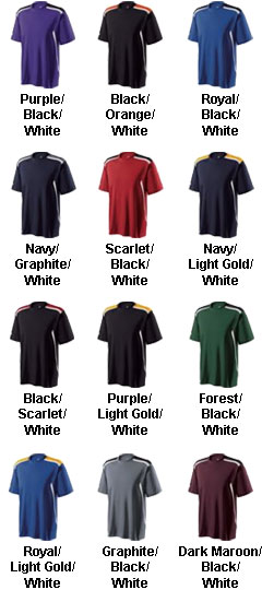 Youth Exult Dry Performance T-Shirt - All Colors