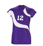 Custom Teamwork Girls Spiral Volleyball Jersey