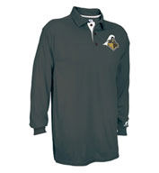 Mens Game Day Long Sleeve Polo by Russell Athletic