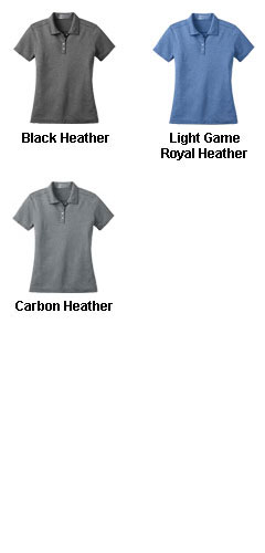 Nike Golf Ladies Dri-FIT Heather Polo - All Colors