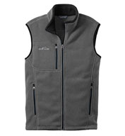 Custom Eddie Bauer® Full Zip Fleece Vest Mens