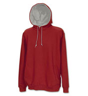 Custom The Adult Rival Two-Tone Hoodie in 16 School Colors by Game Sportswear