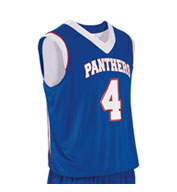 Teamwork Youth Finger Roll Reversible Basketball Jersey