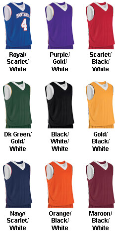 Teamwork Adult Finger Roll Reversible Basketball Jersey  - All Colors