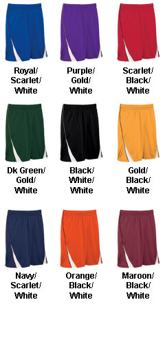 Teamwork Adult Finger Roll 11 Inch Reversible Basketball Short - All Colors