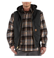 Sandstone Hooded Active Vest by Carhartt