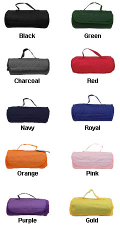 Roll Up Blanket with Carrying Strap - All Colors