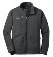 Custom Eddie Bauer® Wind Resistant Full-Zip Fleece Jacket Mens