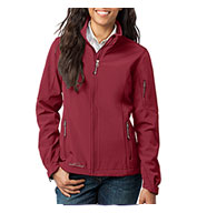 Custom Eddie Bauer® Ladies Soft Shell Jacket