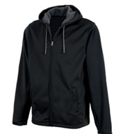Custom Shadow Hooded Soft Shell Jacket by Charles River Apparel Mens
