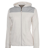 Womens Serenity Silken Fleece Hoodie by Charles River