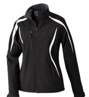 Custom Ladies North End Color-Block Soft Shell Jacket