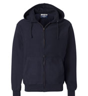 Custom Weatherproof - Cross Weave Full-Zip Hooded Sweatshirt