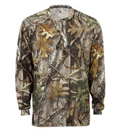 Custom Adult Badger B-Core Long Sleeve Camo T-Shirt Mens