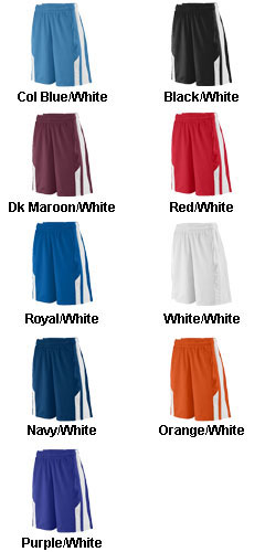 Augusta Youth Thunder Lacrosse Short  - All Colors