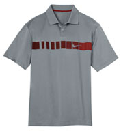 Custom Nike Golf Dri-FIT Chest Stripe Print Polo Mens