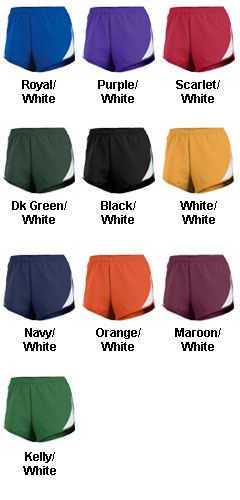 Teamwork Womens Tempo Short - All Colors